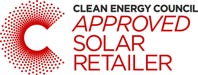 Clean Energy Council Approved Solar Retailer Logo - Sun Solar Panels