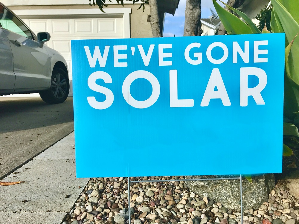 How does the 'Pay As You Save' program help you with solar panel cost?