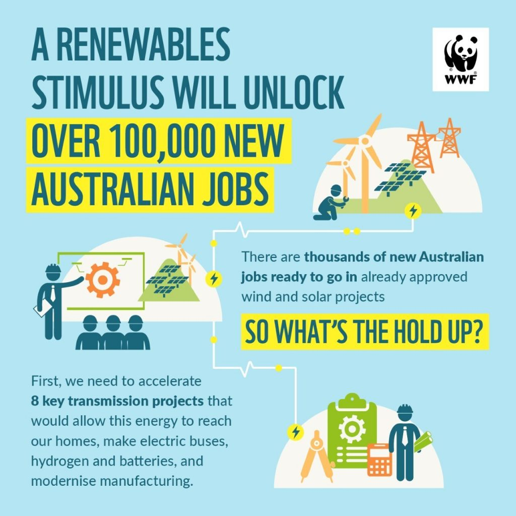 WWF Covid renewable recovery stimulus package