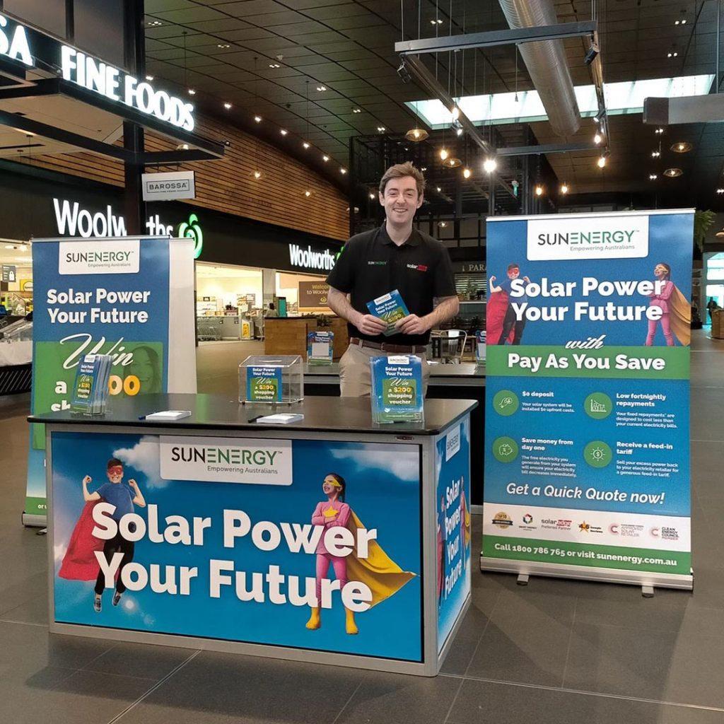 SunEnergy Register To Win At Colonnades And Elizabeth Shopping Centre